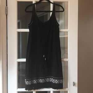 Black J Crew Beach dress